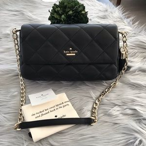 KATE SPADE NY emerson place - serena leather shldr